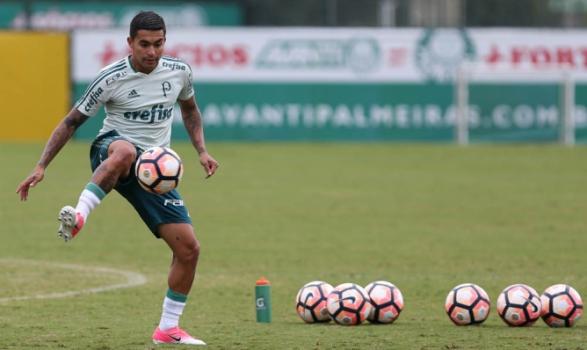 Dudu evolui bem e pode reforçar o Palmeiras contra o Atlético-GO
