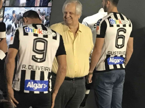 a570bdb76c Novo uniforme do Santos