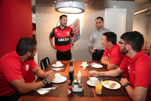 Jogo Flamengo x Santos - Copa do Brasil 2017