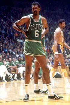 Bill Russell pelo Boston Celtics