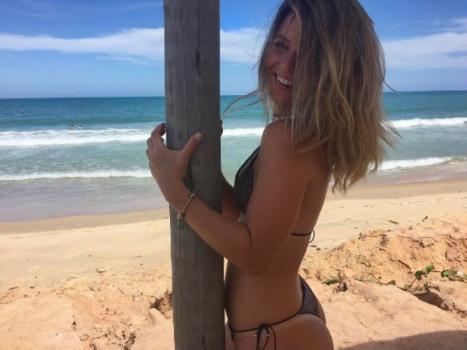 Thaísa Leal, nova namorada de Guerrero