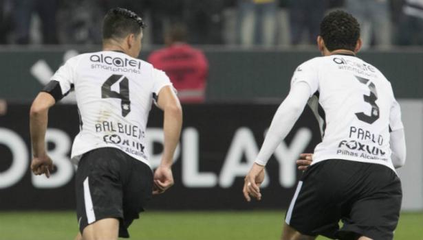 Balbuena e Pablo, do Corinthians