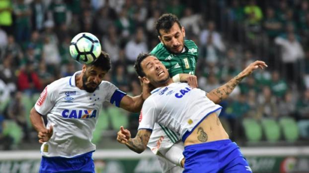 Um show em cada tempo: Palmeiras e Cruzeiro empatam no Allianz Parque