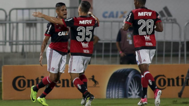 Flamengo se impõe, vence o Santos e abre vantagem nas quartas da Copa do Brasil