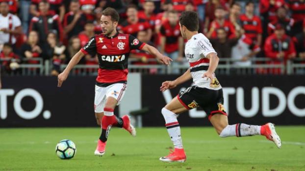 Flamengo goleia o Palestino pela Copa Sul-Americana