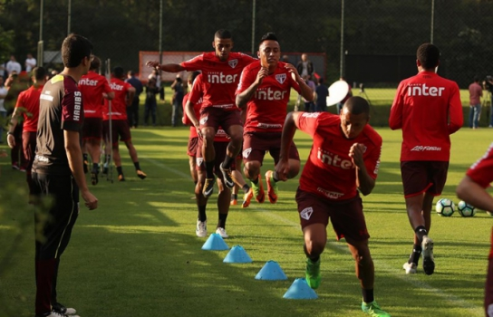 Na estreia de Dorival, São Paulo e Atlético-GO empatam no Morumbi