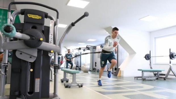 Moisés participa de rachão pela 1ª vez e se aproxima de volta ao Palmeiras