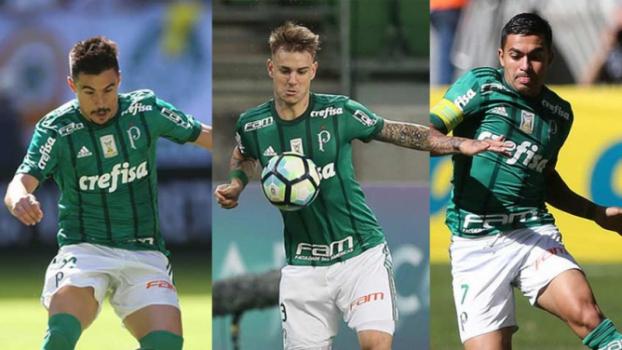 À espera de Deyverson, Palmeiras fixa trio de ataque: quem vai sair?