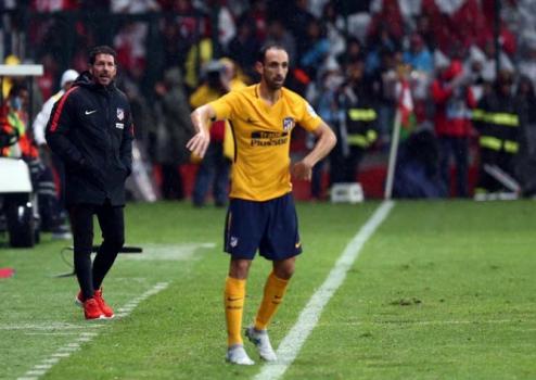 Diego Simeone vai renovar com o Atlético Madrid