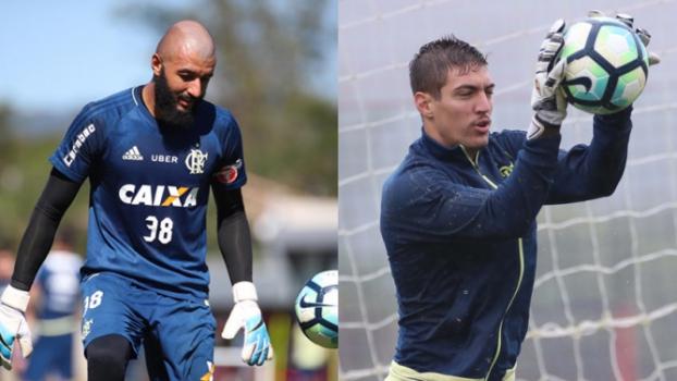 Alex Muralha ou Thiago  Zé ainda não definiu reserva de Diego Alves ... 1993ed1c52ef0