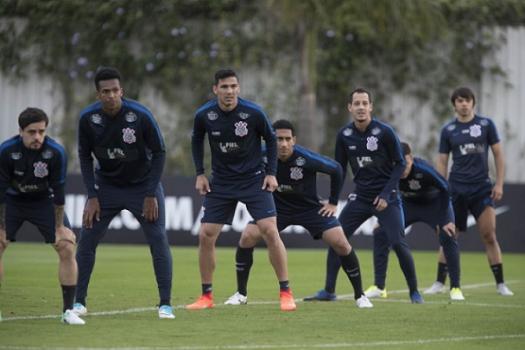 Treino de defesa Corinthians