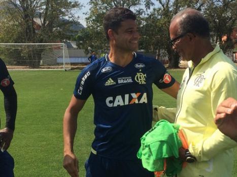 Ederson conversa com Jayme de Almeida
