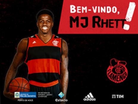 Flamengo contrata ala-pivô americano 'MJ' Rhett — Basquete
