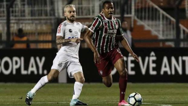 ATUAÇÕES  Santos e Flu têm poucos destaques em empate sem gols  0f706bad97bcc