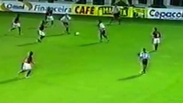 22/9/2004 - Flamengo 2 x 2 Santos, Volta Redonda