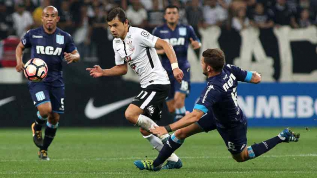 Corinthians piora no segundo tempo e só empata com o Racing na Arena ... 591b3c70b8e30