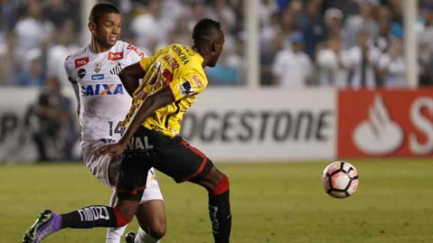 0f72295ea0f97 Barcelona (EQU) vence o Santos e elimina mais um brasileiro da ...