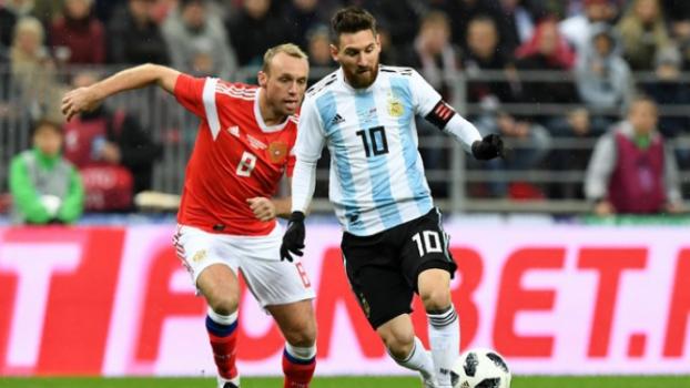 Rússia x Argentina