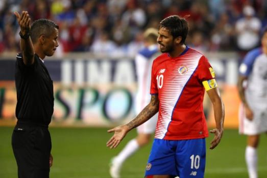 Surpresa em 2014, a Costa Rica chegará ao torneio da Rússia guiada pelo habilidoso meia Bryan Ruiz