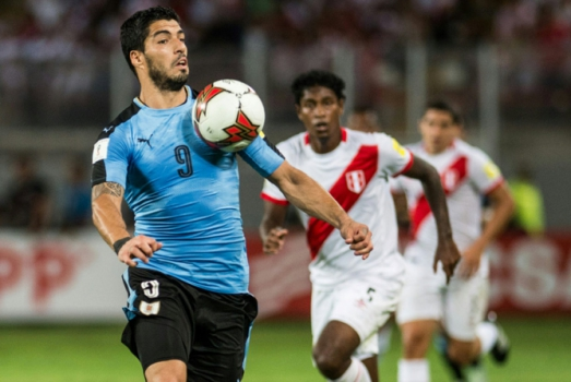 Apesar de contar com o artilheiro Edinson Cavani, o Uruguai joga as suas fichas principalmente em Luis Suárez