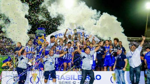 CSA - comemorando título da Série C