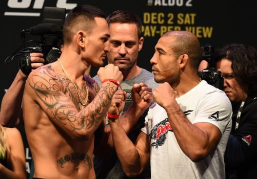 Max Holloway e José Aldo os protagonistas do UFC 218