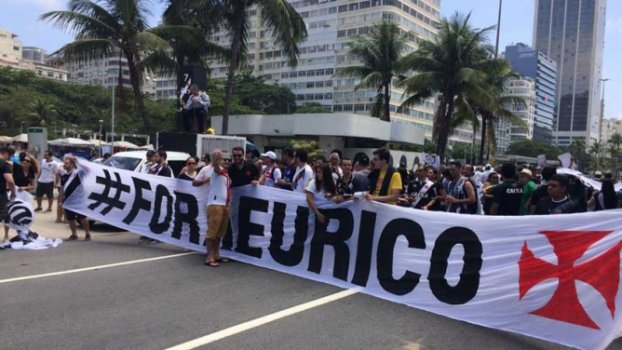Protesto eleição do Vasco
