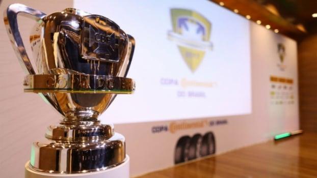 Sorteio Copa do Brasil - Taça