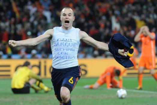 e94a98182e Iniesta admite que deve aposentar-se da seleção espanhola após a ...
