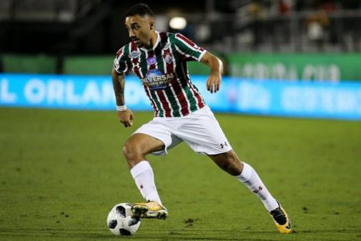Lucas Merçon  FLUMINENSE F.C.. Robinho - Fluminense 44d4a4e379d5e