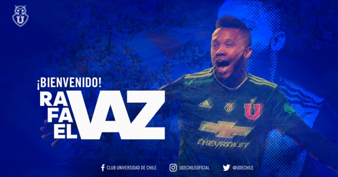 Universidad de Chile - Rafael Vaz