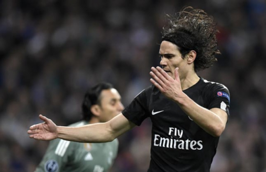 Cavani - Real Madrid x PSG