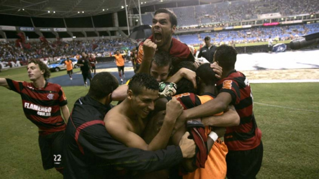 Início de Dourado no Flamengo é melhor do que no Fluminense