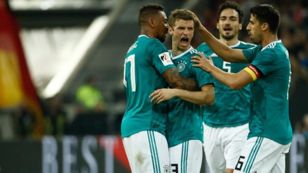 963d7509db Alemanha e Espanha fazem grande jogo e empatam amistoso em 1 a 1 ...