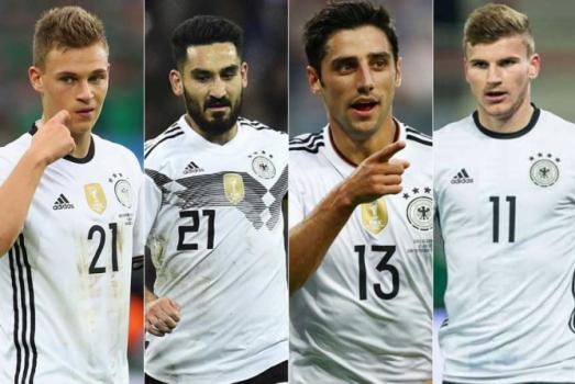 Veja quem são as caras novas da Alemanha que enfrentará o Brasil ... e76df3c6af6d3