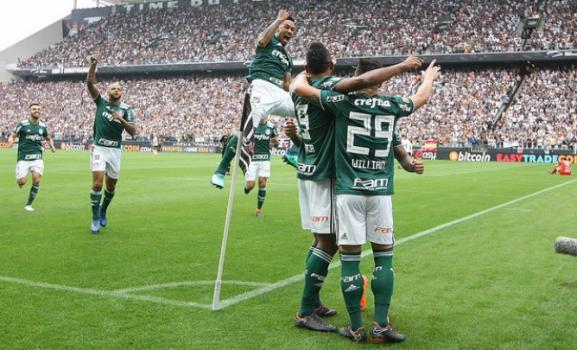 Corinthians 0 x 1 Palmeiras
