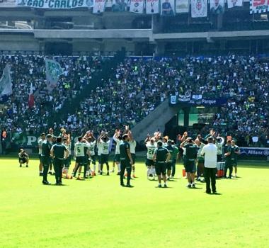 412bc830be Palmeiras encerra preparação para a final diante de 37 mil ...