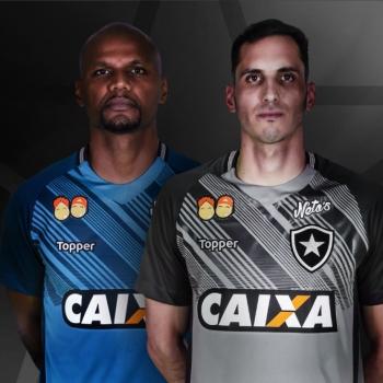 Botafogo lança novos uniformes com festa da torcida no Nilton Santos ... 150dcb6b8fd75