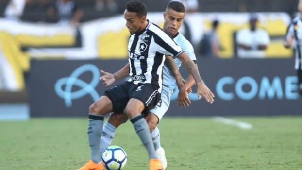 93f2fe0d9147d Botafogo bate o Grêmio e chega à primeira vitória com golaço no fim ...