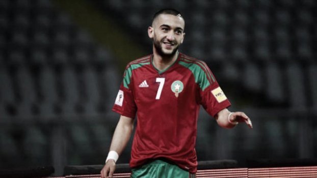 Hakim Ziyech, do Marrocos