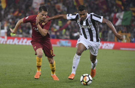 Under e Alex Sandro - Roma x Juventus