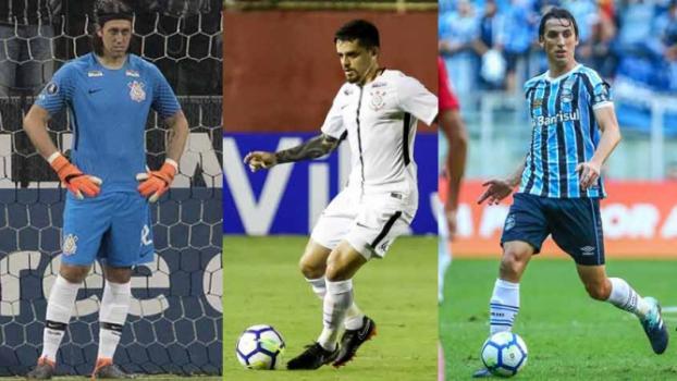 42c25e959a7b1 Europeus  x  brasileiros   as listas da Seleção nas Copas ao longo ...