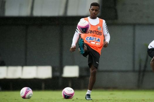 09f51dd096 Rodrygo revê São Paulo e explica por que trocou futsal do rival pelo ...
