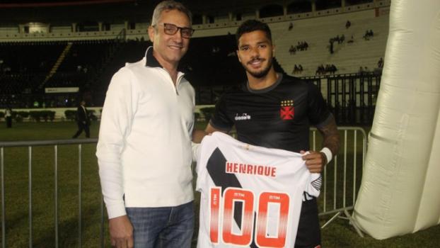 37ac9ce16b Henrique completa 100 jogos pelo Vasco e relembra os 13 anos de clube
