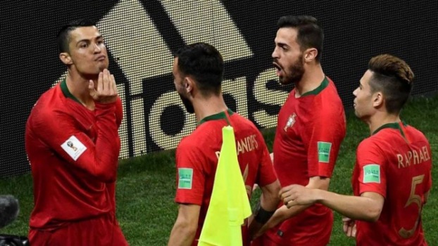 Cristiano Ronaldo. Cristiano Ronaldo fez três gols contra ... e35b6f3954d76