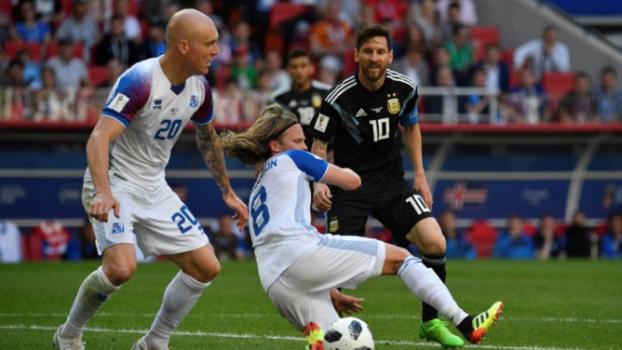 Argentina x Islândia