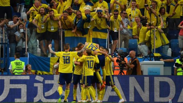 Suécia x Coreia do Sul