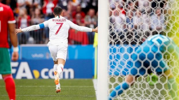Portugal x Marrocos  Cristiano Ronaldo