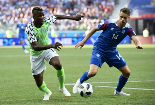 Nigéria x Islândia