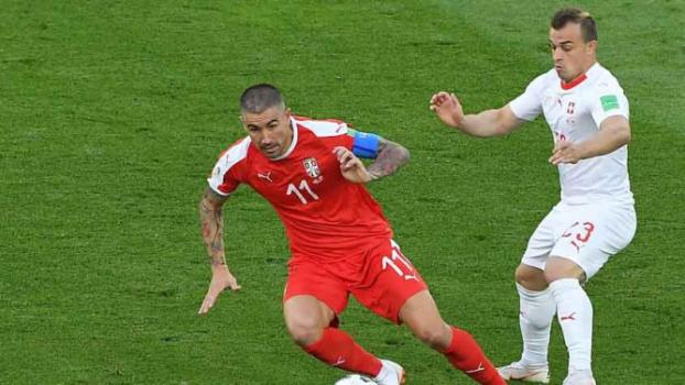 Sérvia x Suíça